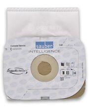 8 GENUINE SAUBER VACUUM CLEANER BAGS SAUBER SI200 CLASSIC SC100 INTELLIGENCE