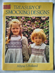 Treasury of Smocking Designs by Allyne Holland – Dover - Lovely collection