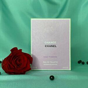 Sale CHANEL Chance Eau Tendre 3.4 Oz Eau de Toilette Women's Spray, New