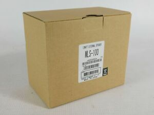 Yaesu Vertex MLS-100 12W External Ham Radio Speaker (new in factory box)