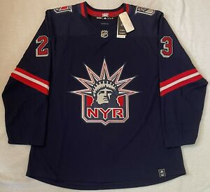 Adam Fox New York Rangers adidas Reverse Retro Authentic Pro Jersey Size 54 BNWT