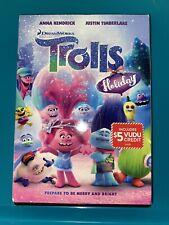 Trolls Holiday DVD Brand New