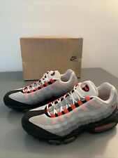 "Nike Air Max 95 ""Team Orange"" 2009 Size 10.5"