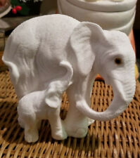 Elephant/Calf  Figurine - Unknown Maker or material