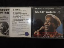 CD MUDDY WATERS / LIVE RECORDINGS / 1965 - 1973 /