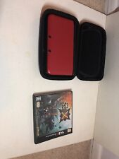 Nintendo 3Ds LL Red With 4 Games  Japanese Vision