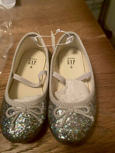 Baby Gap Glitter Shoes toddler Size 8