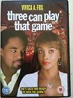 vivicia A Fox TRES Can Play That Game ~ 2008 Comedia Romántica Secuela GB DVD