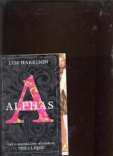 Alphas Book 1 by Lisi Harrison NEW Paperback