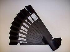 "9 Pack Great Dane Lawn Mower Blades 36"" 3 For 54"" D18037 Gdu10231, Stens"