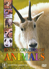 ENCYCLOPAEDIA OF ANIMALS - COMPREHENSIVE REVEALING A-Z ANIMAL DOCUMENTARY DVD