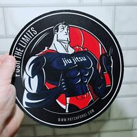 Jiu Jitsu Gi Patch SuperMAN on Kimono  MMA UFC Grappling BRAZIL fightwear