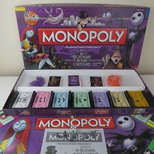 Tim Burton The Nightmare Before Christmas Monopoly Board Game Collectors Edition