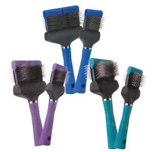 Flex Slicker Brushes Pet Grooming Brush Soft Firm Single Double Sided Tools