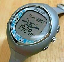 Polar F7 Men Lady 50m Heart Rate Excise Digital Quartz Watch Hours~New Battery