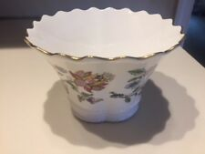 Vintage Minton Haddon Hall English Bone China Vase Bowl