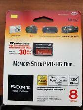Sony 8 GB PRO-HG Duo HX Memory Stick - NEW!