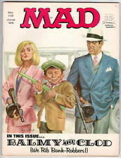 E656 Mad Magazine 119 1968 Comic Book Bonnie & Clyde Movie