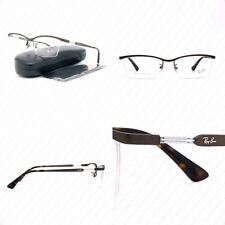 Authentic Ray Ban RX8746D 1020 55mm Matte Brown w/Demo Lenses Eyeglasses RB8746D