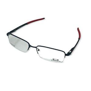 Oakley Gauge 5.1 Eyeglasses Titanium 1/2  Frame w/Red Authentic NWT Box & Case