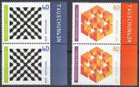 3496 3497 postfrisch Paar senkrecht mit Rand rechts BRD Bund Deutschland 2019