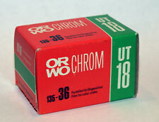 ORWO Orwochrom UT18 color reversal lomography film made in GDR