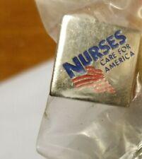 3 different nurses pins Nurses care for America, +