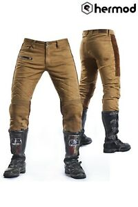 Fuel Motos Sergent Sahara Moto Aramide Pantalon - Sable