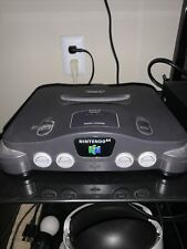 N64 With Cords. Zelda Majoras Mask Holographic Edition, 3 Other Games 2 Controls