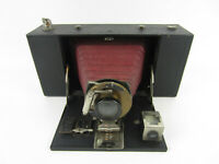 Vintage Antique 1900s No. 3-A Kodak Folding Brownie Camera Model A Red Bellows
