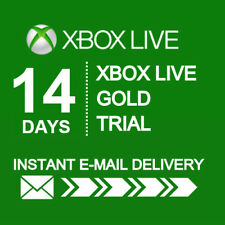 XBOX LIVE 14 DAY (2 WEEKS) GOLD TRIAL CODE INSTANT DISPATCH