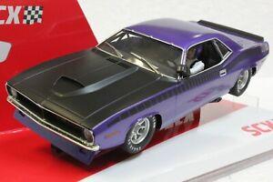 SCX Trans Am In Violet Metallic Cuda 1970 Limited Edition 1/32 Slot  **BLEM**