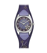 Armbanduhren aus echtem Leder mit Mineralglas für Erwachsene