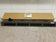 "NEW CAT5e 24 Port Patch Panel RJ45 110 UL Network Ethernet 19"" Rack Mount 1U 1RU"