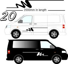Vehicle Graphic Decals Self Adhesive Vinyl Stickers All Vehicle Camper Vans D20