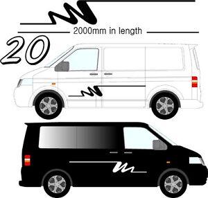 Vehicle Graphic Decals Self Adhesive Vinyl Stickers All Vehicle Camper Vans D20