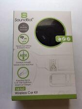SoundBot SB360 Bluetooth 4.0 Car Kit Hands-Free Wireless Talking & Music Stre...