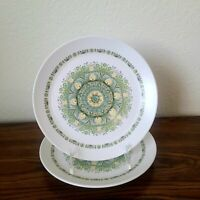 "2 Noritake ""Palos Verde"" Progression China Salad Plates - 8 3/8"""
