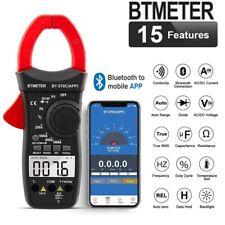 Acdc Clamp Meter Voltmeter Ammeter Ohmmeter Tester Digital Multimeter Withapp