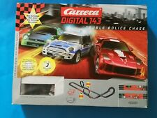 Carrera Digital143 *40001* Double Police Chase mit 3 Autos in OVP - 8,7m Strecke