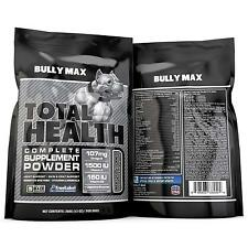 Bully Max Total Health Supplement - 60 Day Supply