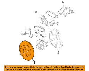 GM OEM Rear Brake-Rotor 19303822