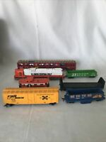 Lot of Trains, Tracks And Parts Tyco And Bachmann