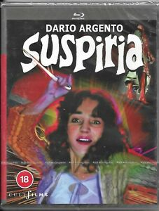 Dario Argento's: Suspiria Blu Ray Region B Inc Registered Post