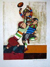 Original Gracielo Rodo Boulanger Signed and Numbered Color Lithograph Print