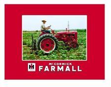 International Harvester McCormick Farmall Fleece Blanket Featuring , C Tractor