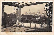 Br33332 BarcelonaExposicion Internacional de Barcelona 1929 spain