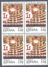 2001 GRAN TEATRO DEL LICEO BARCELONA LICEU EDIFIL 3791 ** MNH B4 TC12450