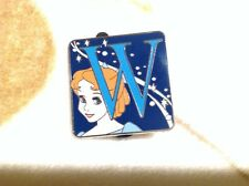 "Disney Peter Pan Wendy Character Alphabet Pin ""W"" Mystery Box Pin"