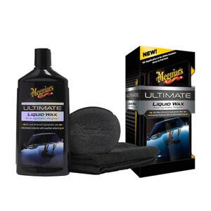 MEGUIARS Ultimate Liquid Wax set Pure Syntetic 473ml+ Applicator pad+ Microfibre